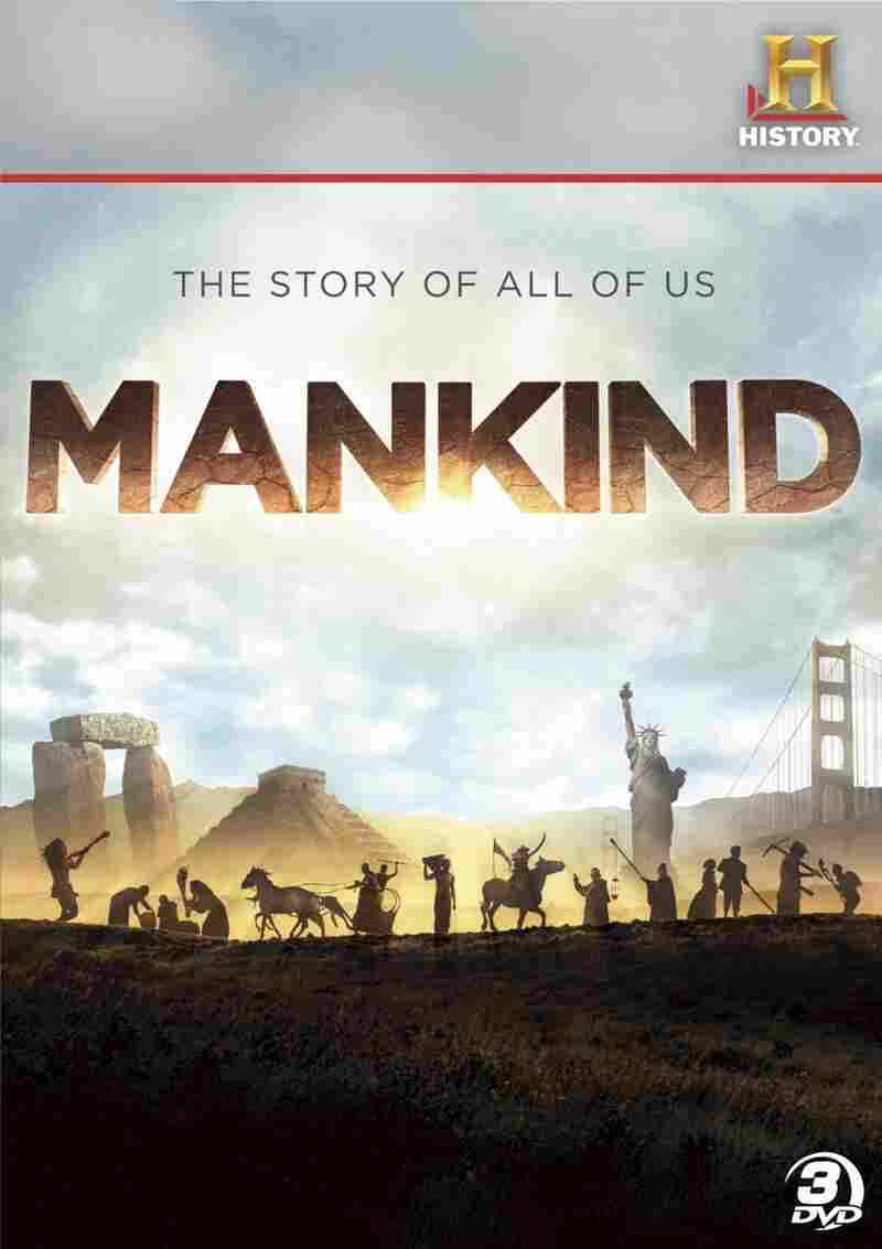 The cover of Mankind: The Story Of All Of Us.