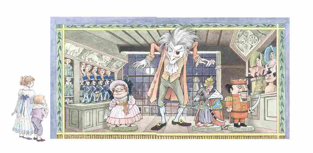 Nutcracker illustration, xvi to xvii