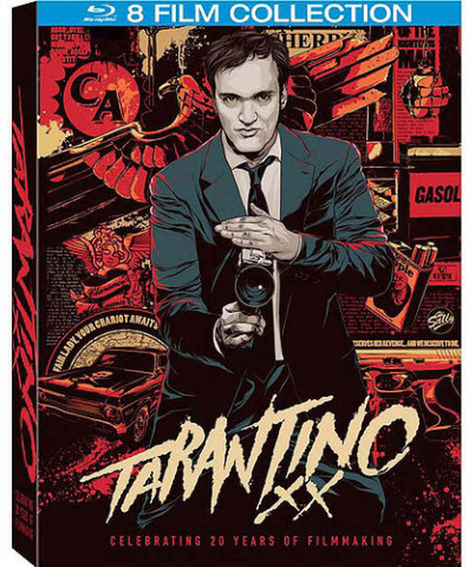 The cover of Quentin Tarantino XX.