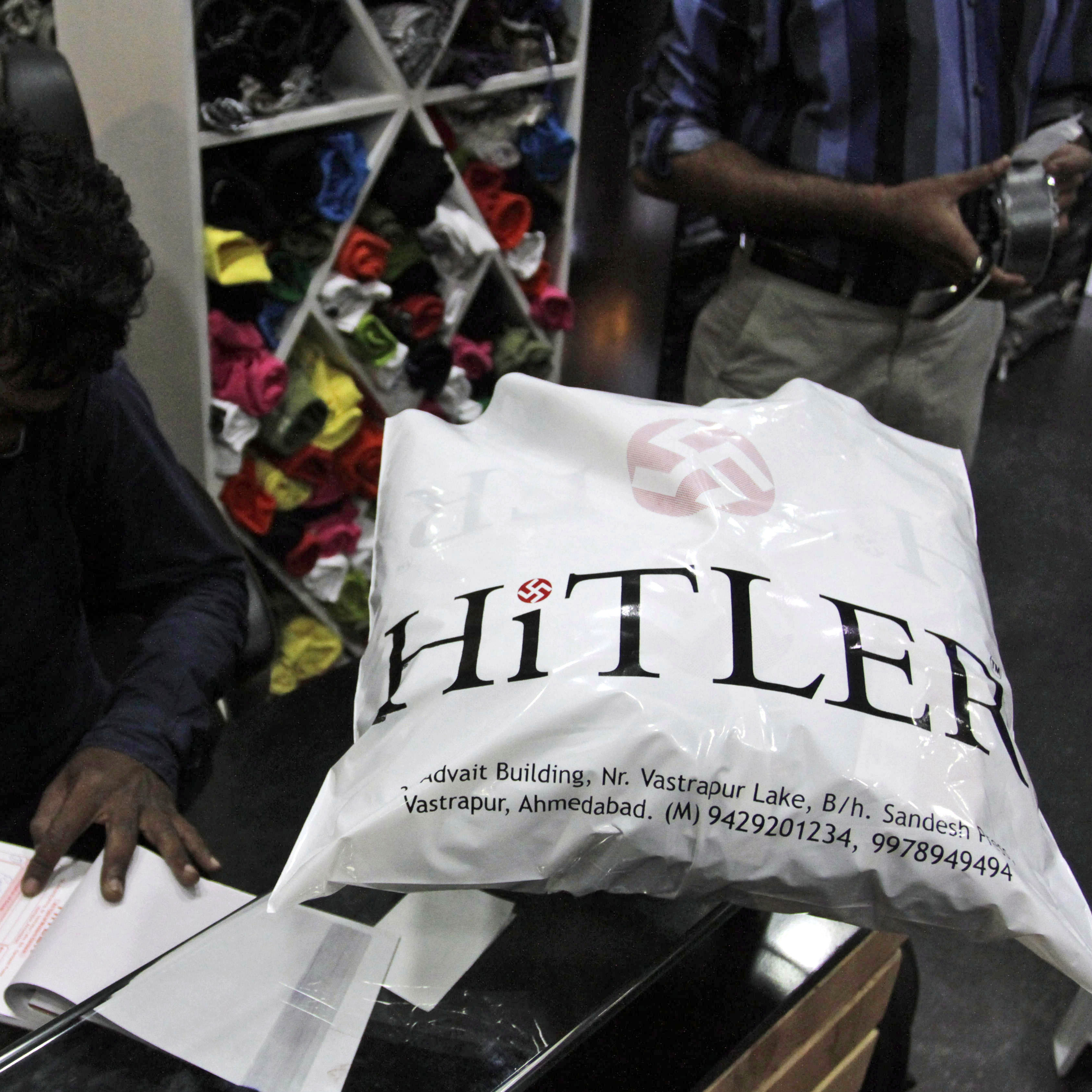 """We are popular because of the name,"" Hitler co-owner Rajesh Shah said. ""Our customers were not upset about the name."""