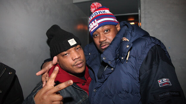 Bundle up like Ghostface (right) and Styles P and you'll be fine. Their group Wu Block played New York City on Wednesday.