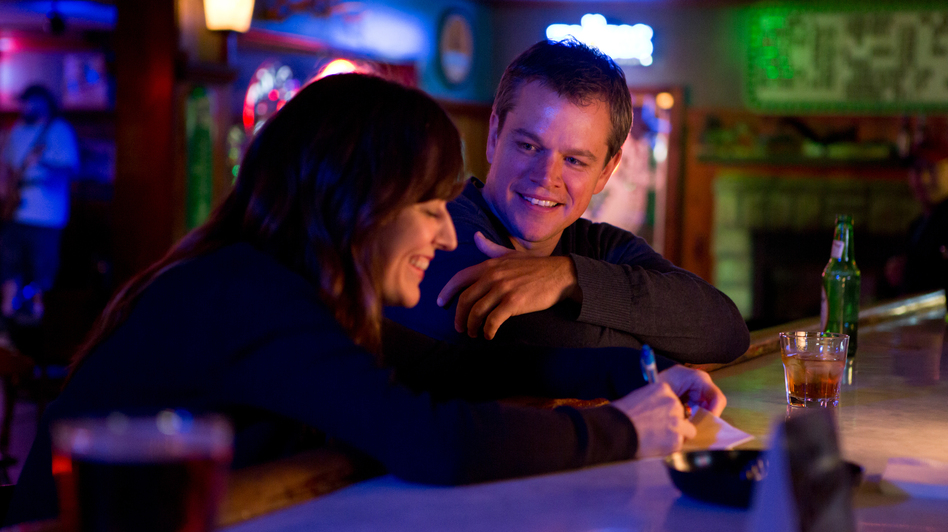 While in town, Steve meets Alice (Rosemarie DeWitt). (Focus Features)