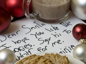 Aside from the traditional plate of cookies, some households planned to leave Santa gourmet surprises that would land most people on the naughty list at the local gym.
