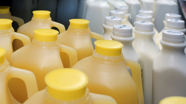 The expiration date on foods like orange juice and even milk aren't indicators of when those products will go bad. (iStockphoto.com)