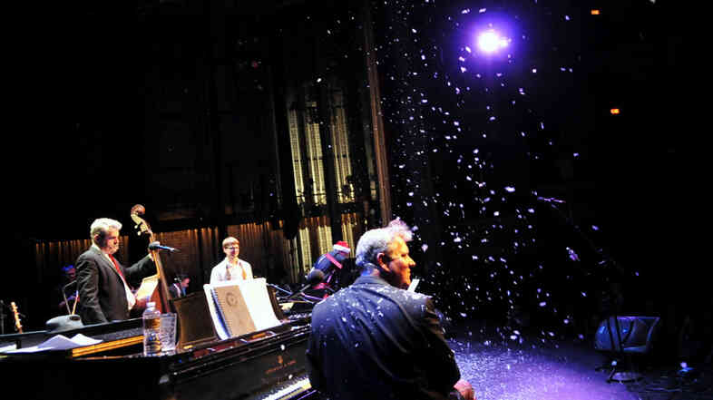 "The New Standards recently performed ""Snow Days"" for The Current i"