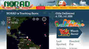 NORAD Tracks Santa, powered by Microsoft.