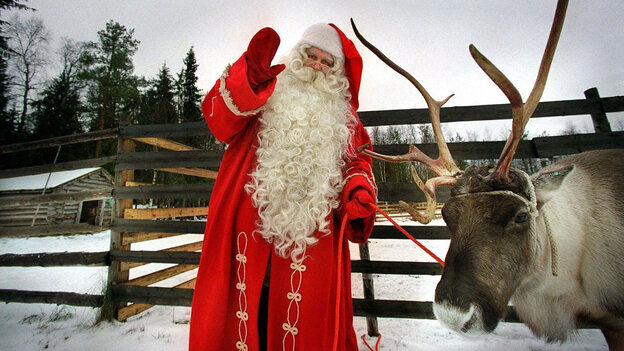 Science says Santa's been tricking us with that reindeer stuff.