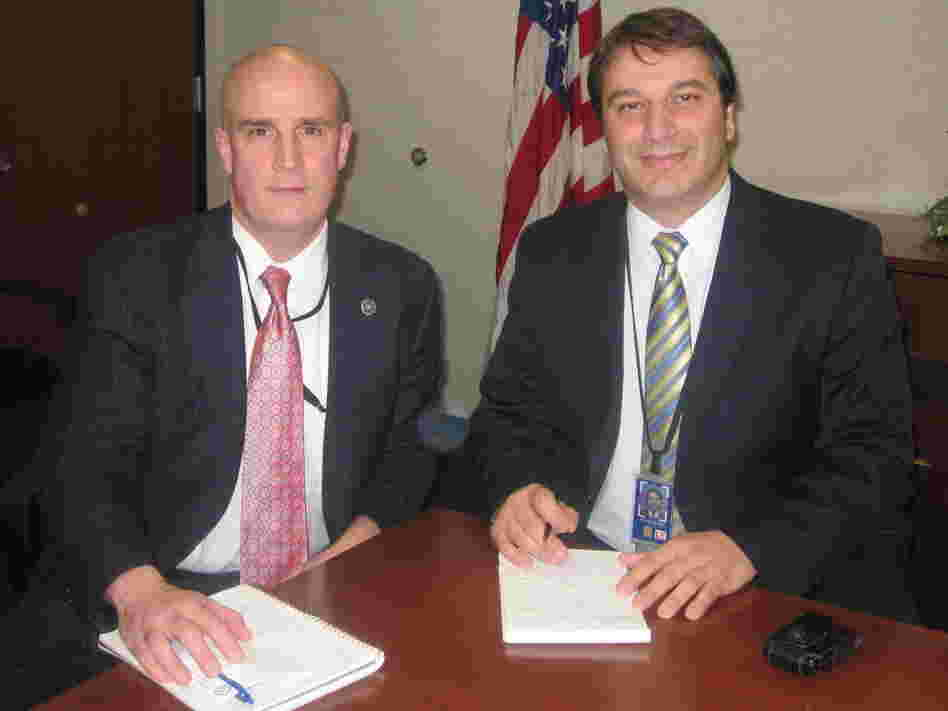 Patrick Carroll (left) and David Chaves head white collar crime and securities fraud units at the FBI's New York office. Their team pursued insider trading with some of the same tactics used on organized crime and drug cartels.
