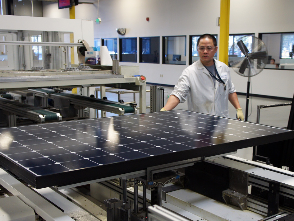 Rift With China Clouds Solar Industry S Future Npr