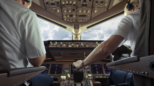 Starting next summer, aspiring commercial pilots will need 1,500 hours of flight training before they can be hired. This dramatic increase, among other factors, is making airlines worry that there will not be enough pilots to maintain current service. (iStockphoto.com)