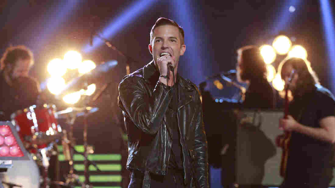 The Killers perform on the season finale of NBC's The Voice last week.