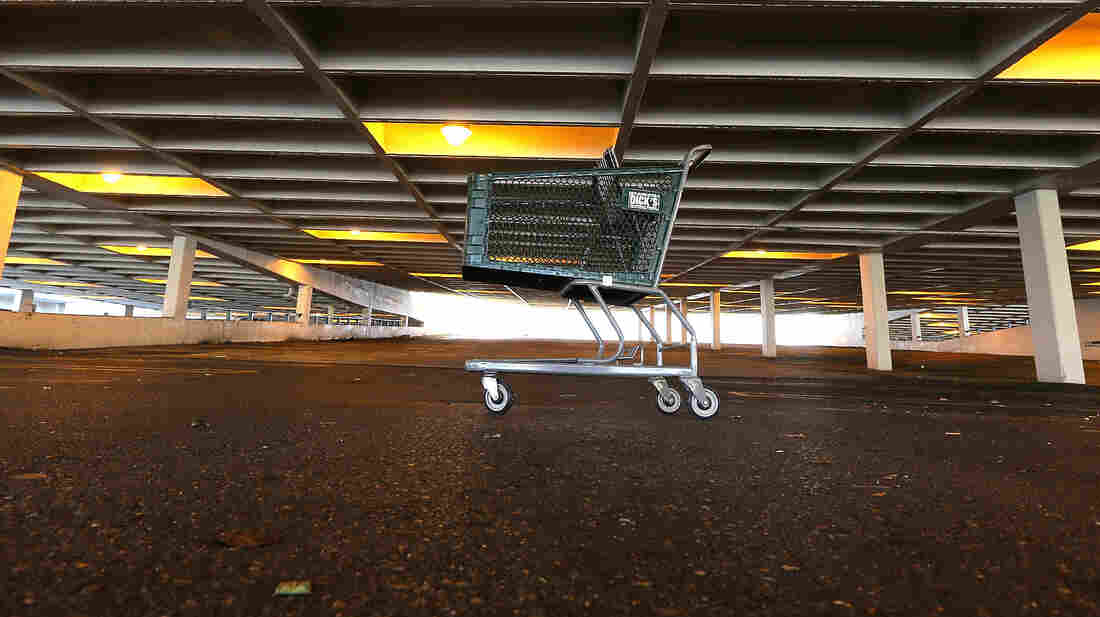 Will someone come back to fill it up? On Christmas Day at the Lakeside Mall in New Orleans, this shopping cart sat all alone. After what's been said to have been a soft holiday shopping season, retailers are hoping that post-holiday sales will be strong.