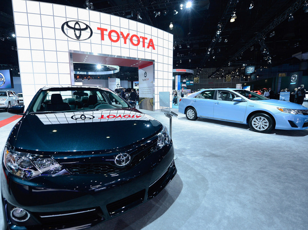 "Toyota has agreed to spend more than $1 billion to resolve lawsuits stemming from ""unintended acceleration"" cases. In November, the company displayed new cars at the Los Angeles Auto show."