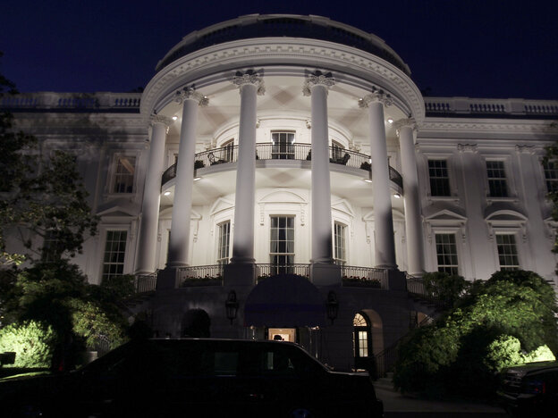 Will the lights be on late at the White House for the next