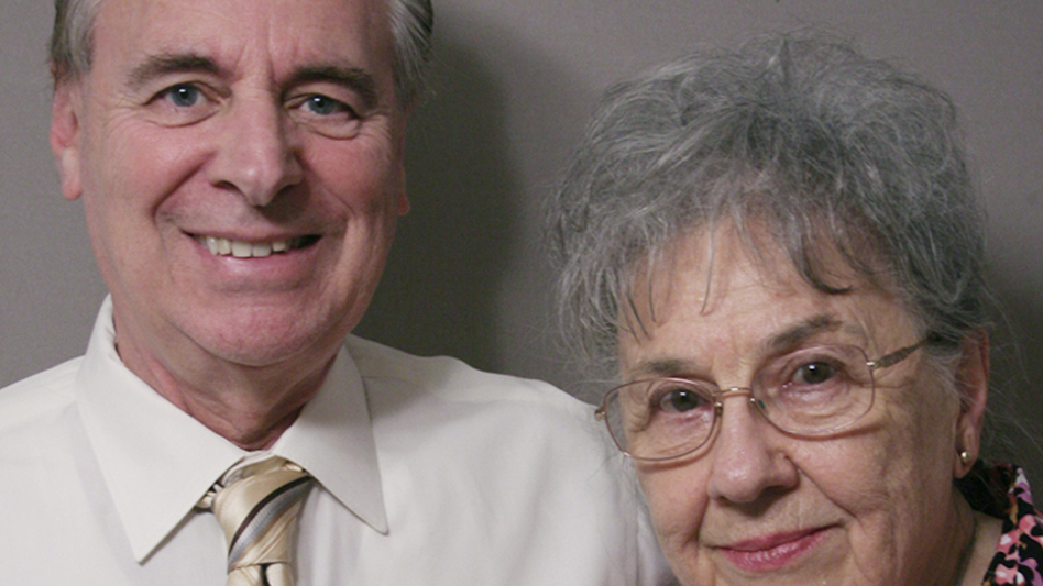 John Cruitt reunited with his third-grade teacher, Cecile Doyle, to tell her about the impact she had on him as he coped with his mother's death. (StoryCorps)