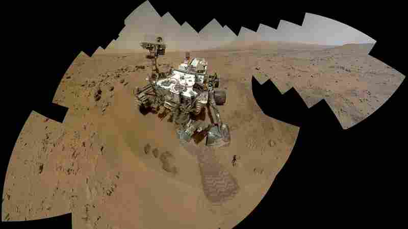 The Mars Rover Takes A Selfie