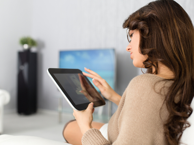 Broadcasters and other companies spent a lot of time and money this year bringing television to a second screen. (iStockphoto.com)