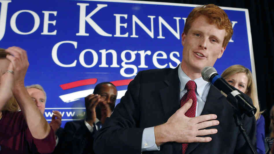 Joseph Kennedy III, son of former Rep. Joseph Kennedy II and grandson of the late Robert F. Kennedy, del