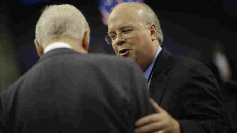Republican strategist Karl Rove, shown at the Republican National Convention in August, is arguing for continued secrecy for the new class of million-dollar political donors.