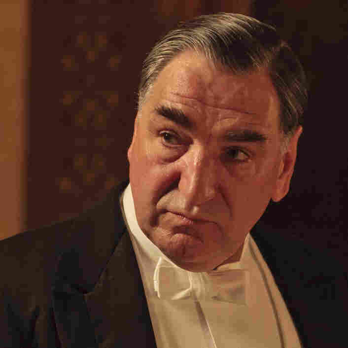 "In this image released by PBS, Jim Carter as Mr. Carson is shown in a scene from the second season of ""Downton Abbey."" Carter was nominated for an Emmy award on Thursday, July 19, 2012 for outstanding supporting actor in a drama series."