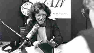 Terry Gross, shown above in 1987, has been host of Fresh Air since 1975, when it was broadcast only in greater Philadelphia.