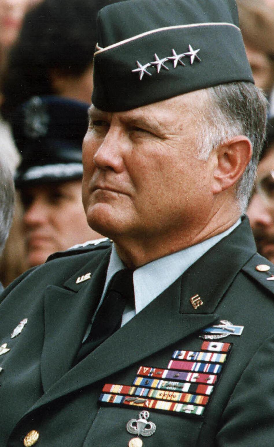 Gen. Norman Schwarzkopf in 1990.