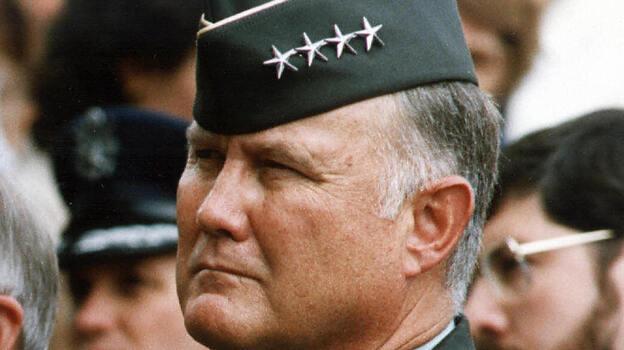 Gen. Norman Schwarzkopf in 1990. (AFP/Getty Images)