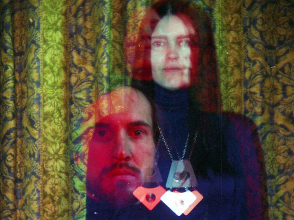 Broadcast's James Cargill and Trish Keenan. The band was working on the Berberian Sound Studio soundtrack when Keenan died suddenly in early 2011.