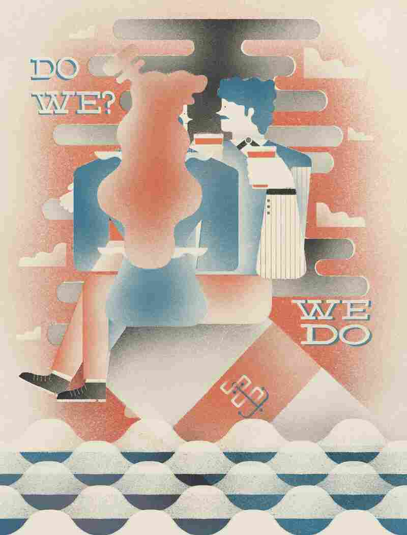"Song Reader original art for the song ""Do We? We Do."""