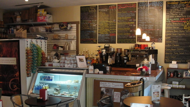 The Corner Perk Cafe in Bluffton, S.C. (Mandi Brower Photography)