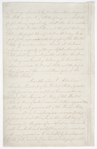 Page 2 of the Emancipation Proclamation.