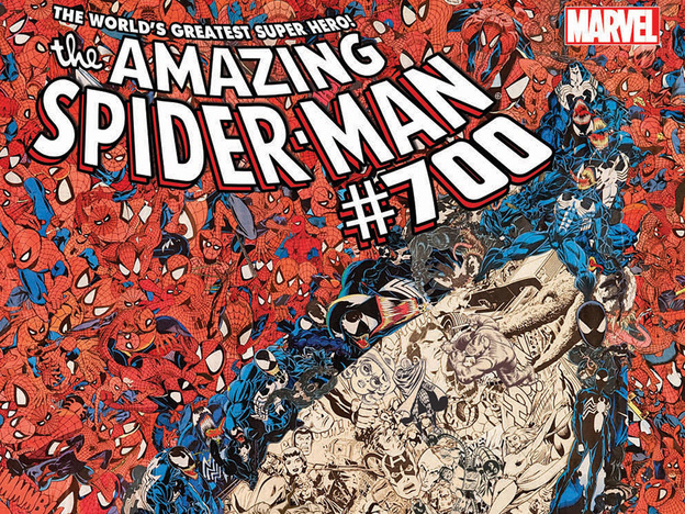 The Amazing Spider-Man #700 is the final issue of the series. (AP/Marvel Comics)