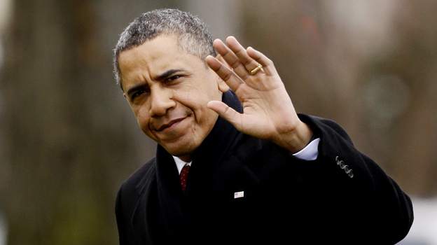 """President Obama returned early from his holiday in Hawaii on Thursday for discussions on the """"fiscal cliff."""" (AP)"""
