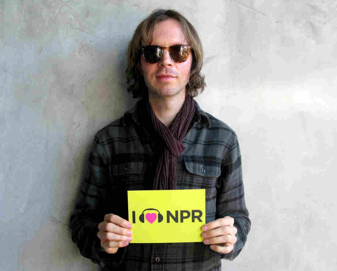 Beck at NPR West.