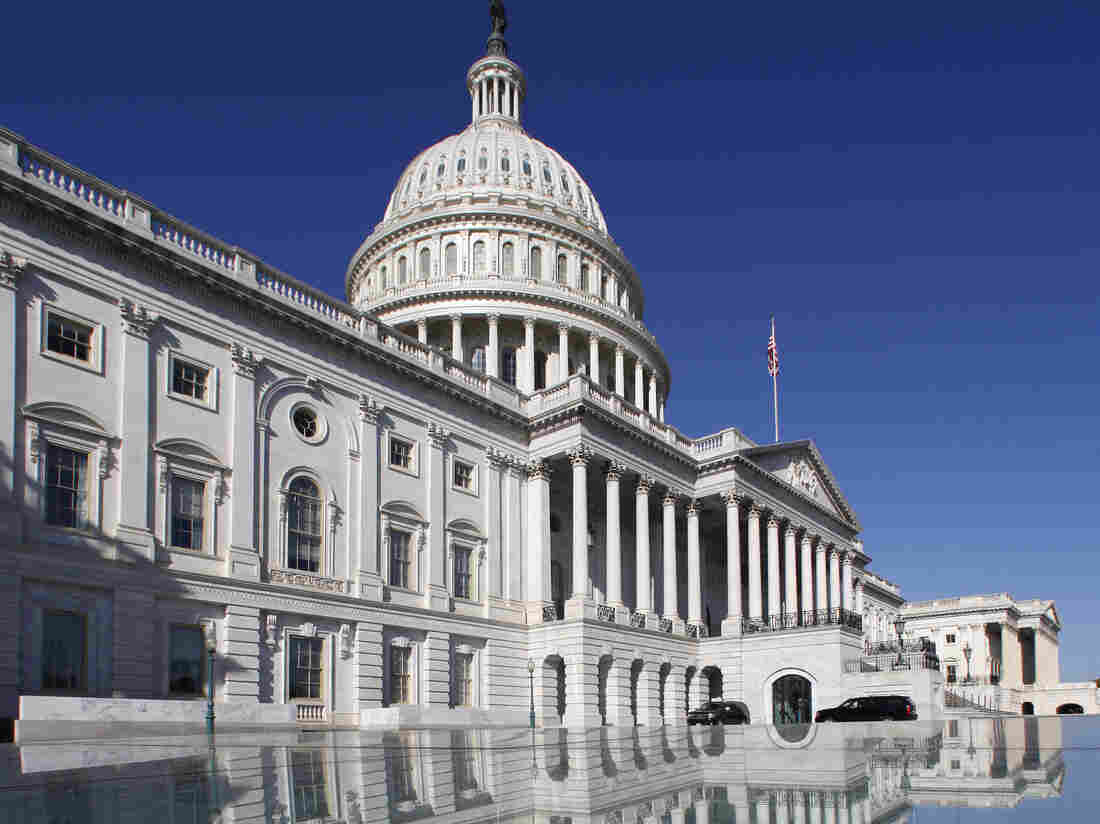 "The U.S. Capitol. Will lawmakers avoid the ""fiscal cliff"" or go over?"