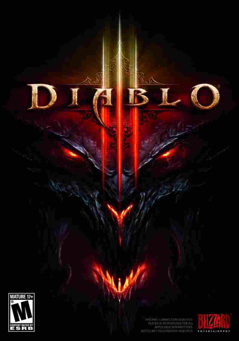 The cover of Diablo III.