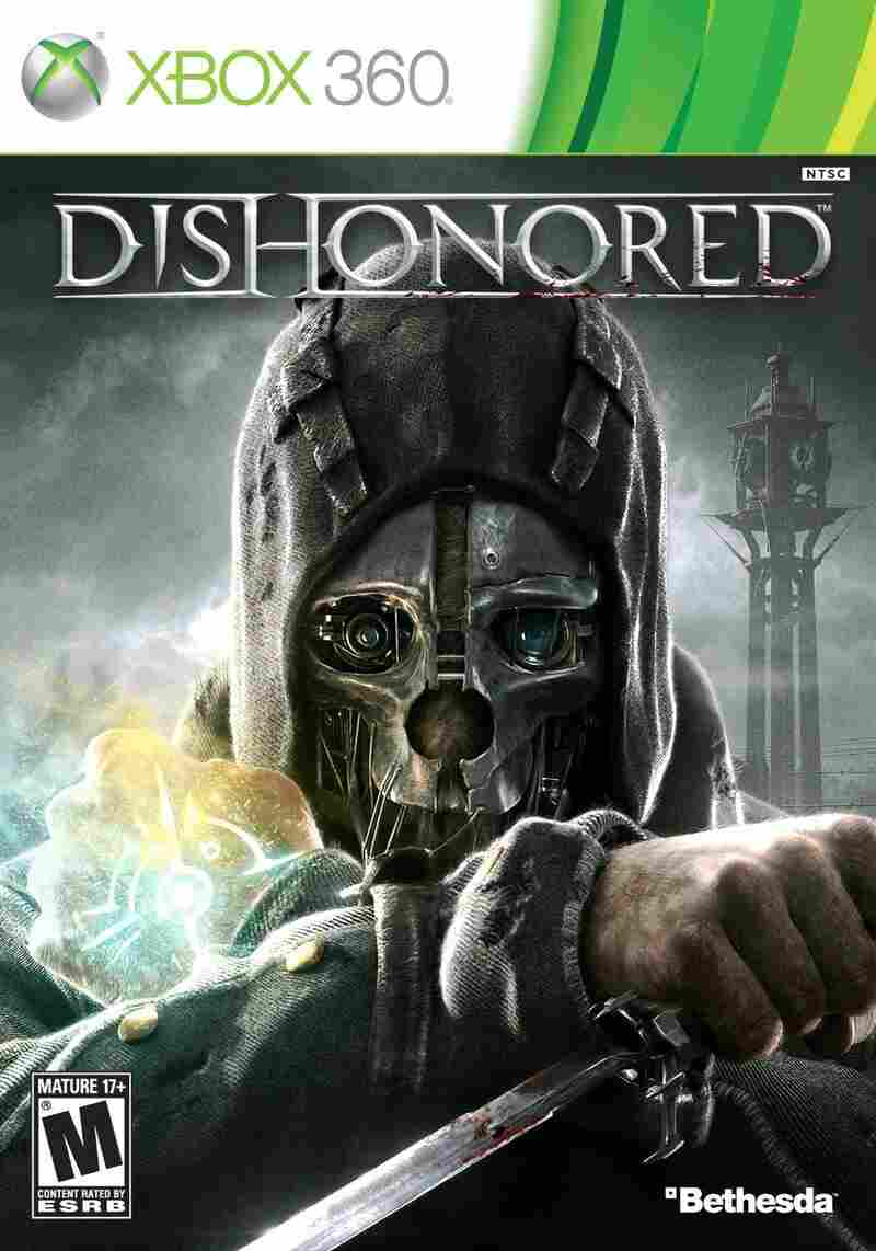 The cover of DISHONORED.