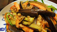 Don't blame the braised eggplant. Two people reportedly poisoned a Beijing restaurant's eggplant dishes, similar to the one shown here, in an attempt to boost the business of a rival eatery.
