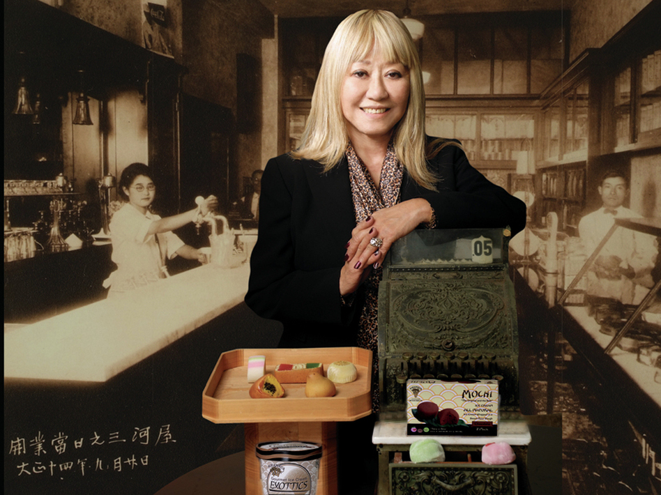Frances Hashimoto, the inventor of mochi ice cream, was born in a World War II internment camp in Arizona. (Toyo/Gary Miyatake)