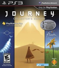 The cover of JOURNEY.