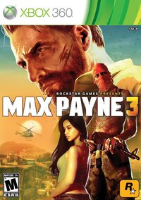The cover of Max Payne 3.