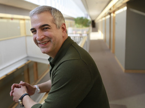 Anthony Shadid received the 2010 Pulitzer Prize for international reporting with The Washington Post.