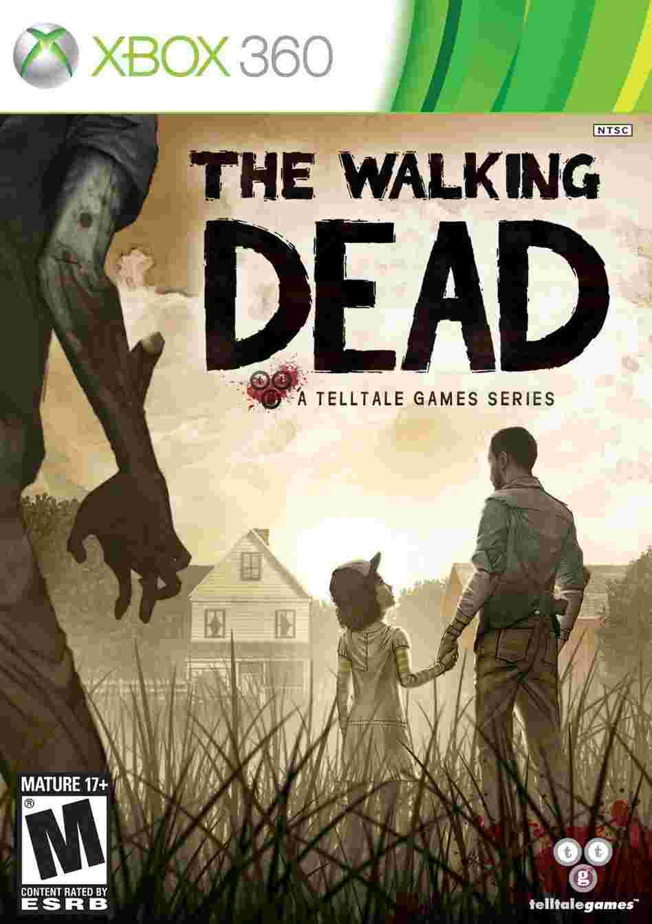 The cover of THE WALKING DEAD.