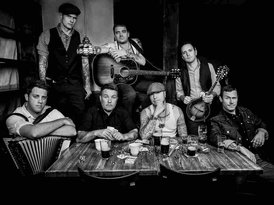 """Rose Tattoo,"" by the Irish punk band Dropkick Murphys, memorializes the grandfather of singer and bassist Ken Casey (left of center, at table)."