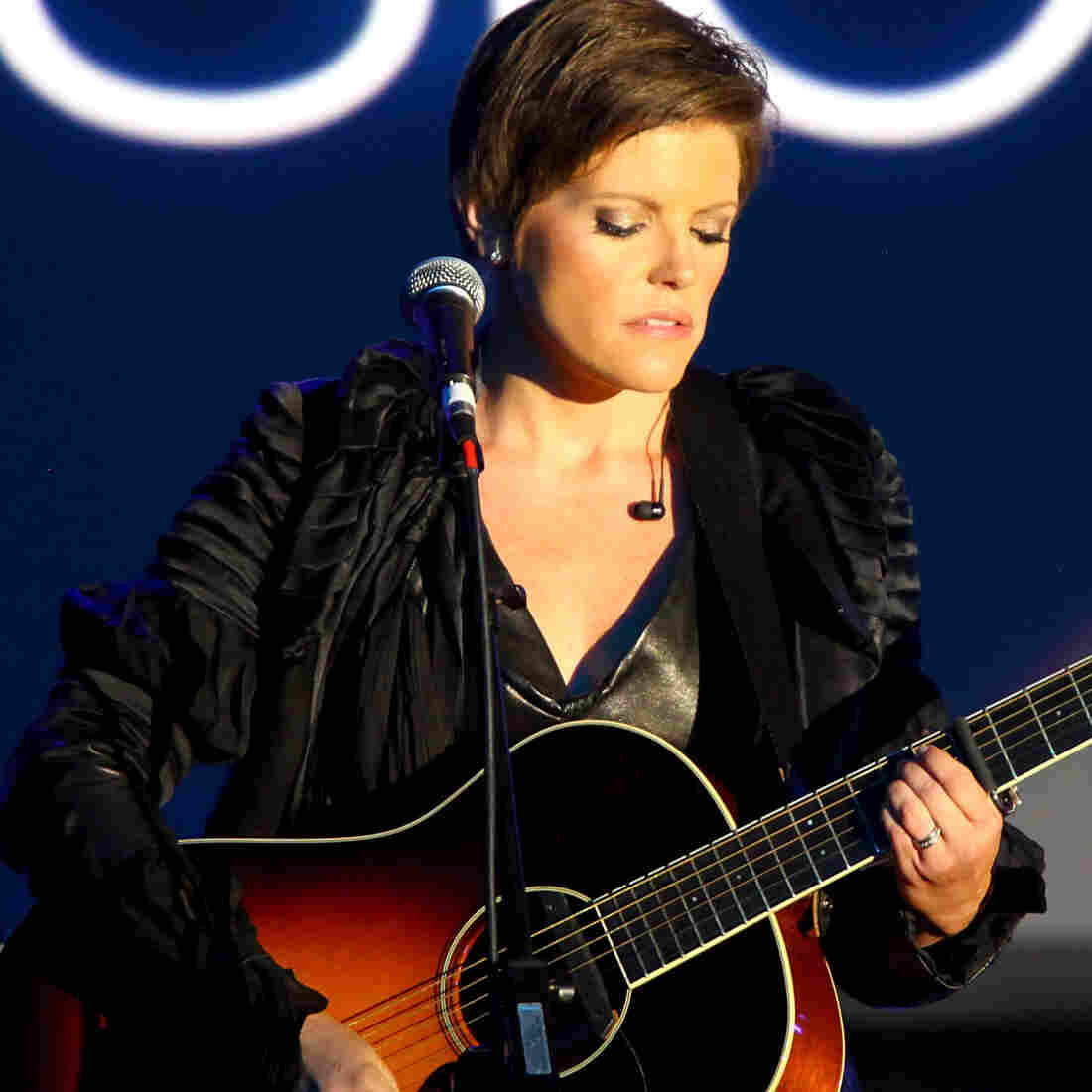 Natalie Maines performing in April.
