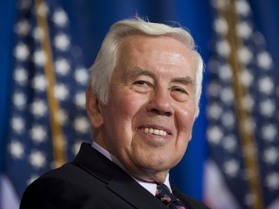 Sen. Richard Lugar, R-Ind., last month in Washington. (AFP/Getty Images)