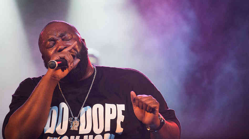 Killer Mike performing at Moogfest in October.