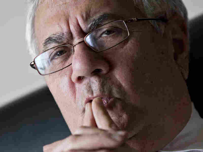 Rep. Barney Frank, D-Mass., the nation's most prominent gay politician, speaks in Washington last month about his imminent retirement.