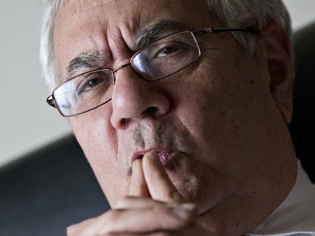 Rep. Barney Frank, D-Mass., the nation's most prominent gay politician, speaks in Washington last month about his imminent retirement. (AP)