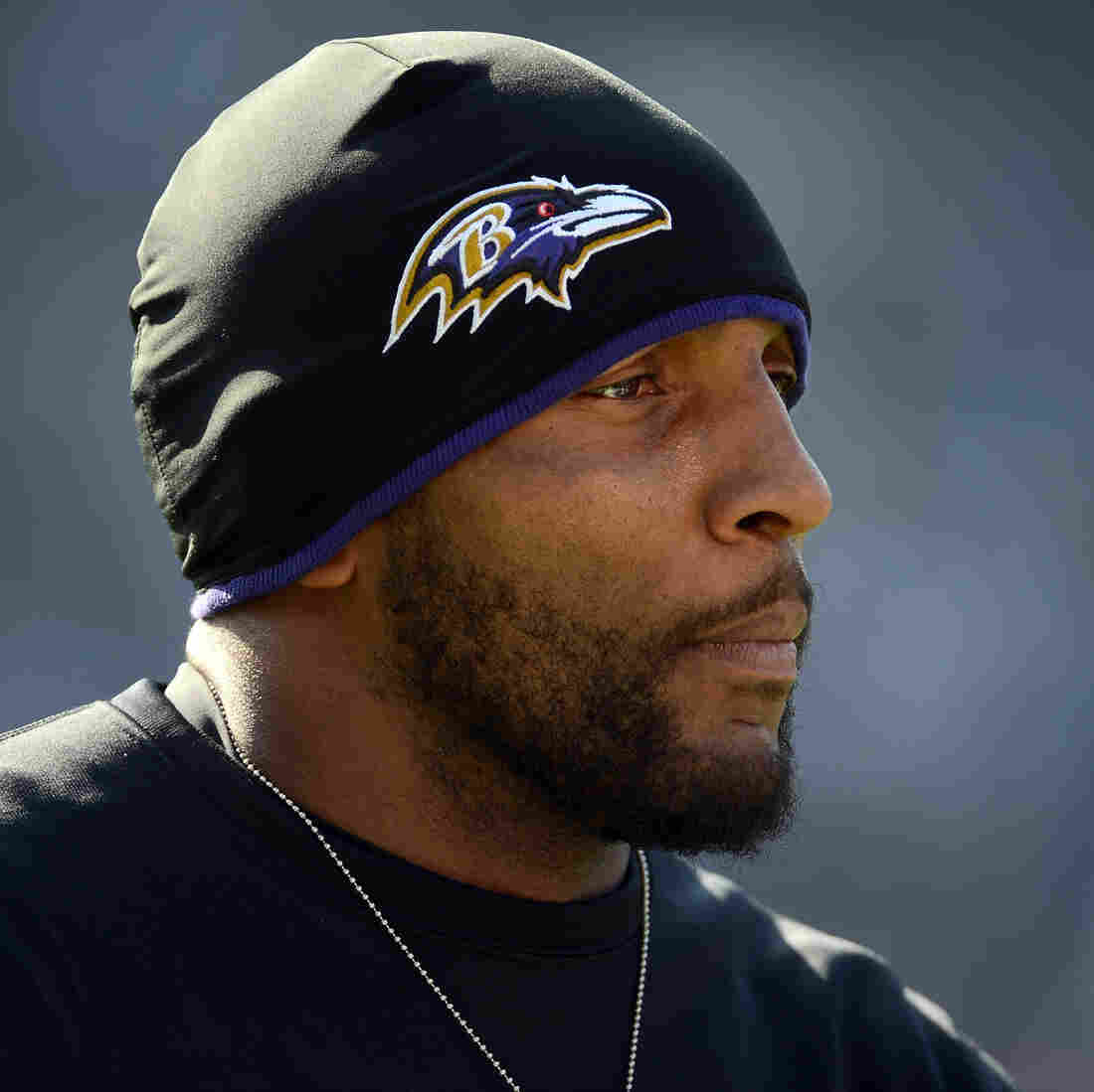 Linebacker Ray Lewis announced Wednesday that he will retire after the Baltimore Ravens' season ends. Most media coverage of Lewis' legacy has omitted his part in a 2000 double-homicide case.
